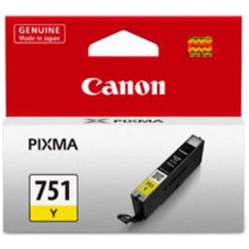 Canon 佳能CLI-751Y 黃色墨水匣