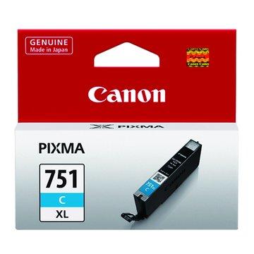 Canon 佳能CLI-751C XL 藍色墨水匣