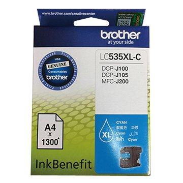 BROTHER LC535XLC 藍色墨水匣