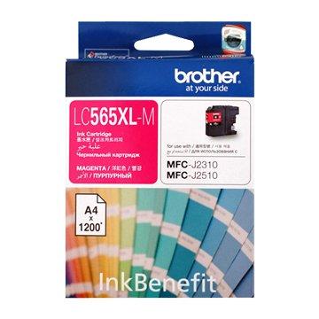 BROTHER LC565XLC 紅色墨水匣