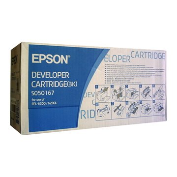 EPSON 愛普生S050167 黑色 碳粉匣