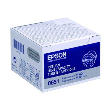 EPSON 愛普生S050651 黑色碳粉匣