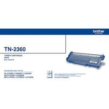 BROTHER TN-2360 黑色碳粉匣