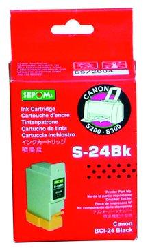 SEPOMs 西本副廠墨匣 BCI-24B 黑