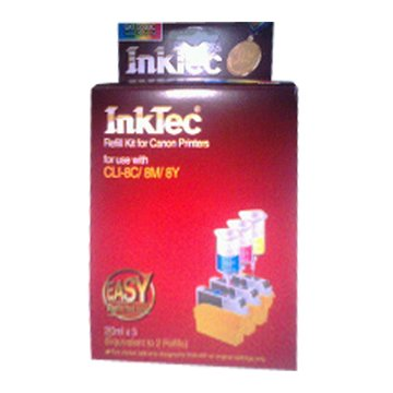 InkTec 偉橋CLI-8C/M/Y彩填充墨水