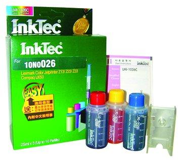 InkTec 偉橋10N0026彩+工具填充墨水