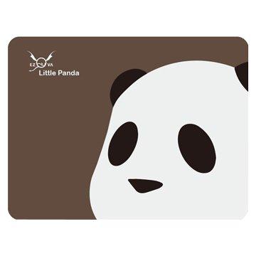 eZova 竹炭滑鼠墊/熊貓/咖底
