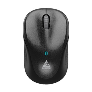 WINTEK 文鎧 6100 3代無線藍芽滑鼠(黑)
