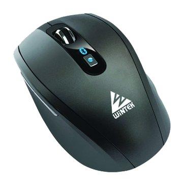 WINTEK 文鎧 6100無線藍芽滑鼠(黑)