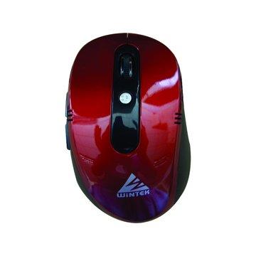 WINTEK 文鎧WSS75無線光學鼠(紅)