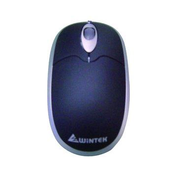 WINTEK 文鎧 WSS91U海豚鼠/USB(銀黑)