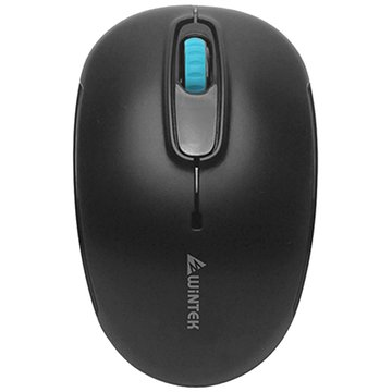 WINTEK 文鎧1200B平價王智能省電無線鼠(黑)