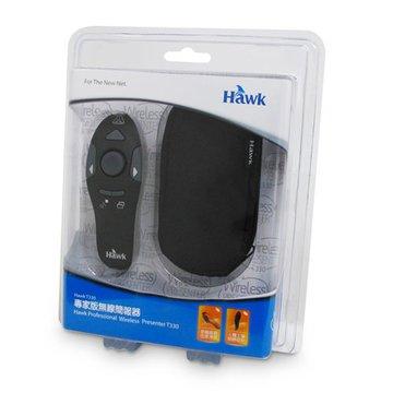 Hawk 鵰族T330專家版無線射簡報鼠(黑)