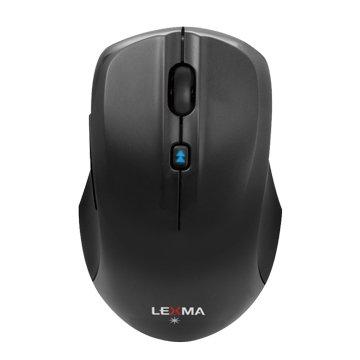 Lexma M820R無線藍光滑鼠(黑)