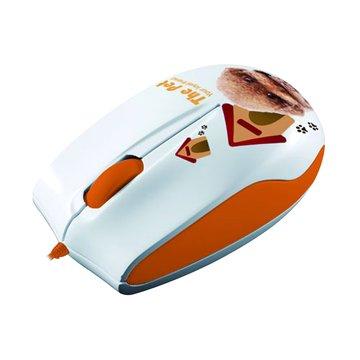 Lexma 橘/M722 THE PET藍光滑鼠/USB