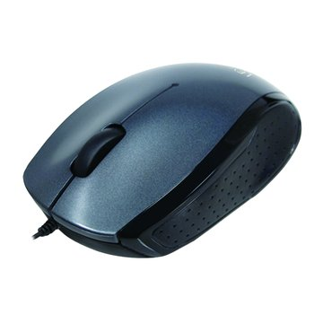 Lexma 鐵灰/M727藍光滑鼠/USB