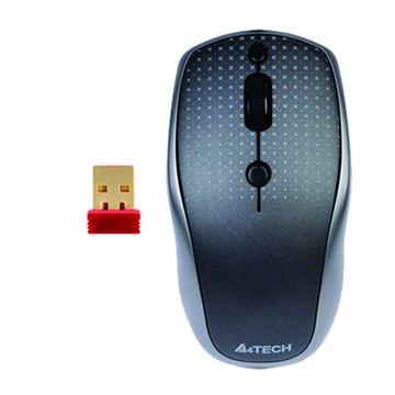 A4 黑/G9-530HX絕塵無孔無線鼠