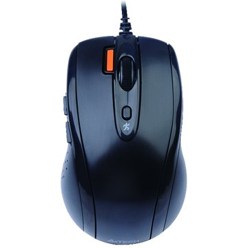 A4 D-70FX D9紫龍針光遊戲鼠/USB(黑)
