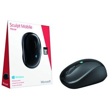 Microsoft 微軟Sculpt無線行動滑鼠(黑)