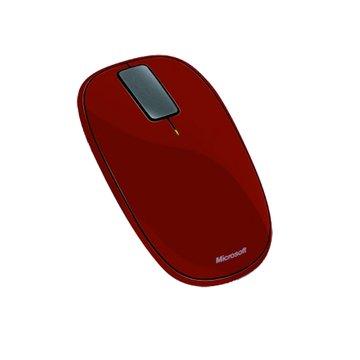 Microsoft 微軟 橘紅/Explor Touch無線藍光鼠