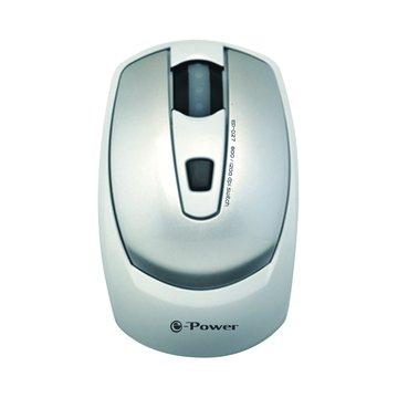 e-Power EP-027SW光學滑鼠/USB(銀白)