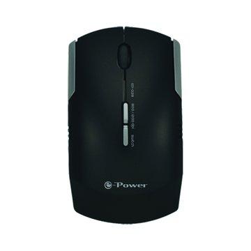e-Power EP-028GB光學滑鼠/USB(亮黑)