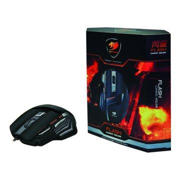 HEC 偉訓 黑/FLASH閃靈電競滑鼠/USB