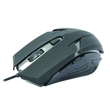 INTOPIC 廣鼎MS-079UFO飛碟光學鼠/USB(黑)