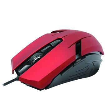 INTOPIC 廣鼎MS-079UFO飛碟光學鼠/USB(紅)