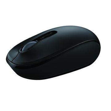 Microsoft 微軟1850無線行動滑鼠(黑)