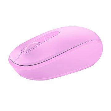 Microsoft 微軟1850無線行動滑鼠(粉)