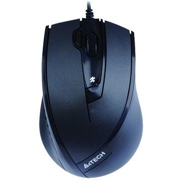 A4 D-730FX D9紫龍針光遊戲鼠/USB(黑)