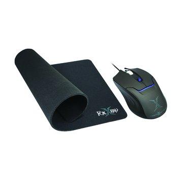 FOXXRAY FXR-BMP-06熾星光學電競組/USB(黑)