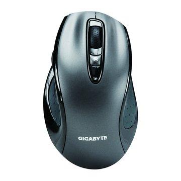 GIGABYTE 技嘉 M6800雙光學掃描遊戲滑鼠/USB(黑)