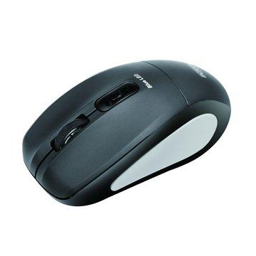 INTOPIC 廣鼎MSW-BL560飛碟無線藍光鼠(黑)