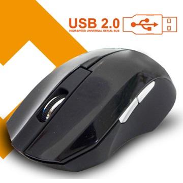 Link All M0306B光學滑鼠/USB(黑)