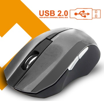 Link All M0306BG光學滑鼠/USB(鐵灰)