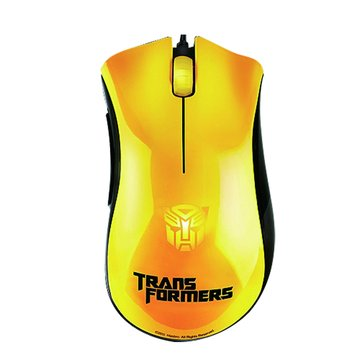 RaZER 黃/煉獄奎蛇-變形金剛3大黃蜂電競鼠/USB