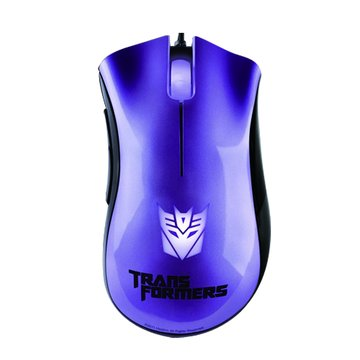 RaZER 紫/煉獄奎蛇-變形金剛3震盪波電競鼠/USB