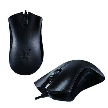 RaZER 黑/Deathadder煉獄奎蛇電競雷射鼠2013/USB