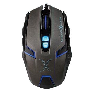 FOXXRAY FXR-BM-12波霎獵狐光學電競滑鼠(黑)