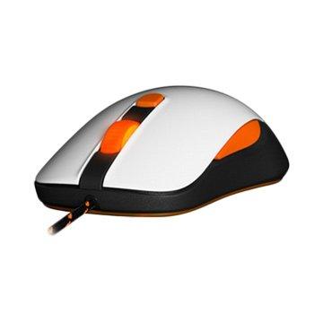 steelseries Kana v2 光學電競鼠(白)