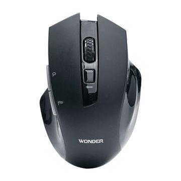 WONDER 旺德電通WA-I08MB AI無線語音打字翻譯滑鼠(黑)