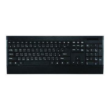 WINTEK 文鎧WK930新太空船超薄多媒體鍵盤/USB(黑)(福利品出清)