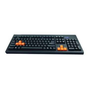 WINTEK 文鎧WK750機械式鍵盤/USB(黑)