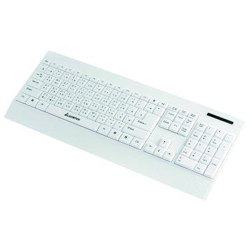 WINTEK 文鎧WK930新太空船超薄多媒體鍵盤/USB(白)