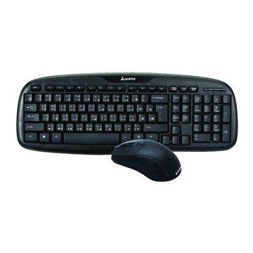 WINTEK 文鎧WM700黑武士鍵鼠組/USB(黑)
