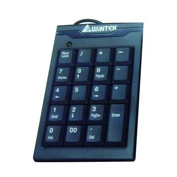 WINTEK 文鎧TK70-2數字鍵盤/USB(黑)