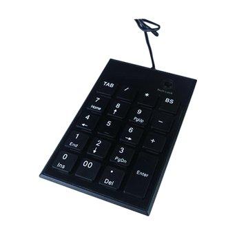 WINTEK 文鎧TK60剪刀腳數字鍵/USB(黑)
