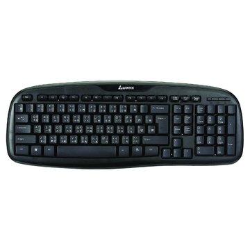 WINTEK 文鎧WK160黑武士防水鍵盤/USB(黑)